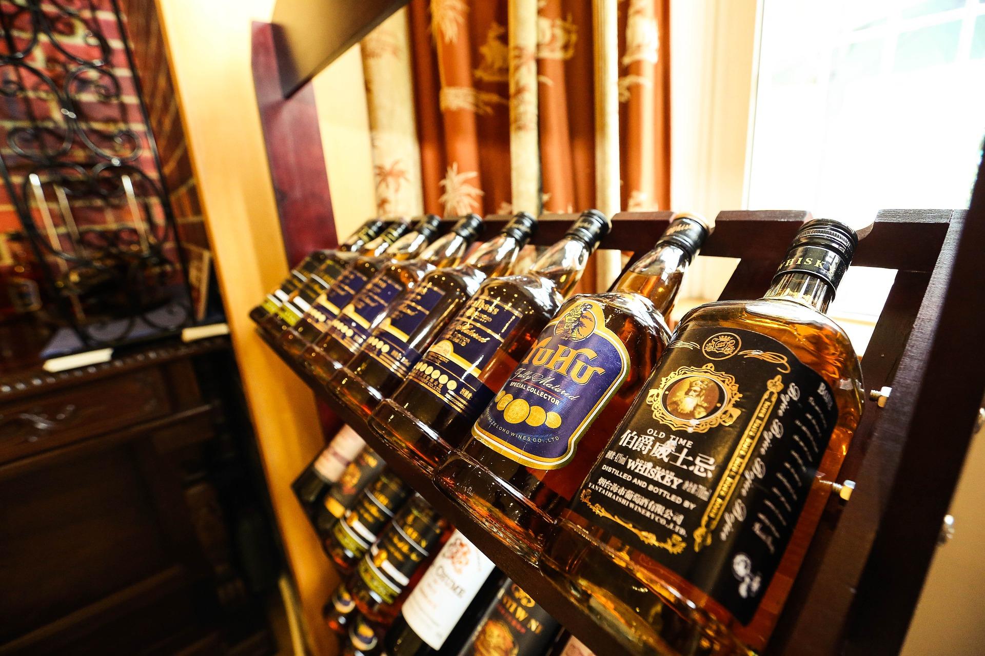 Diverse whiskey